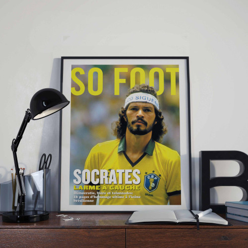 Affiche So Foot, Socrates