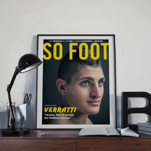 Affiche So Foot, Verratti