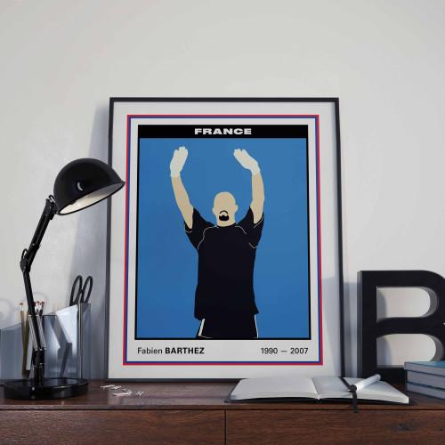 Affiche Vignette Barthez
