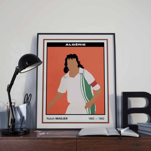 Affiche Vignette Madjer