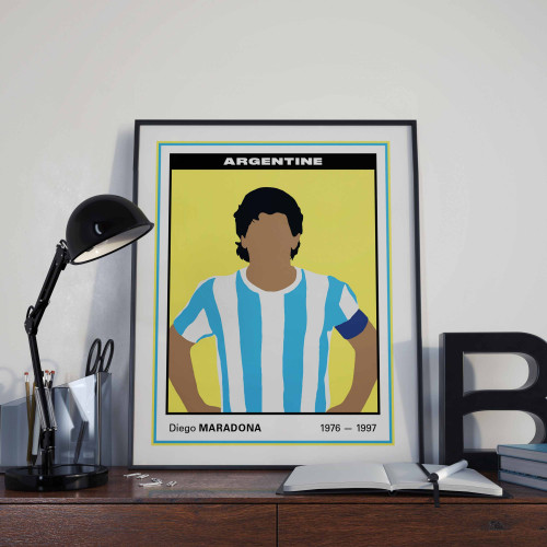Affiche Vignette Maradona