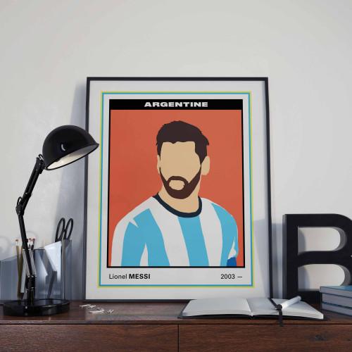 Affiche Vignette Messi
