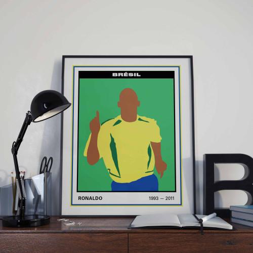 Affiche Vignette Ronaldo
