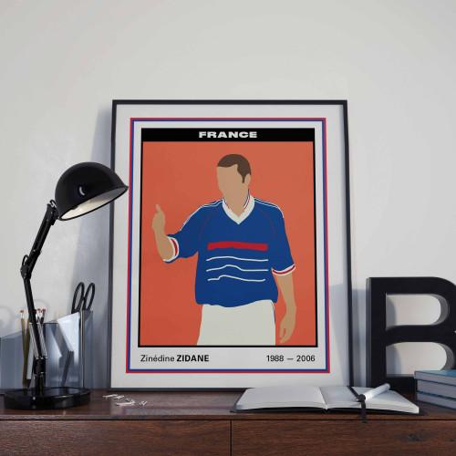 Affiche Vignette Zidane