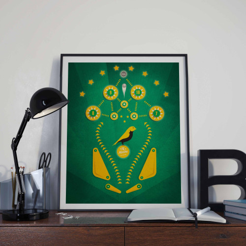 Affiche Flipper FC Nantes
