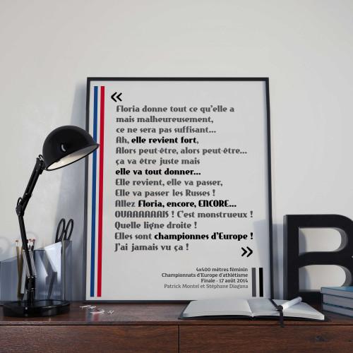 Affiche Allez Floria Guei