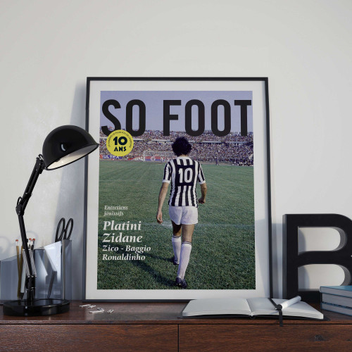 Affiche So Foot, Platini