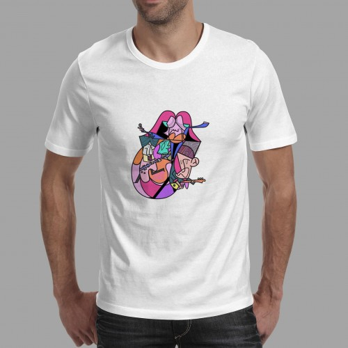 T-shirt homme Langue Rolling Stones
