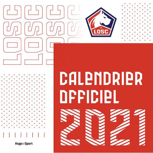 Calendrier mural 2021 des clubs de Ligue 1