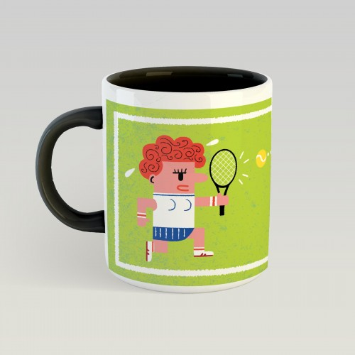 Mug Grand Chelem Wimbledon girls