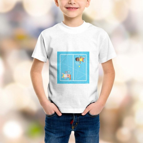 T-shirt enfant Tennis Grand Chelem US Open