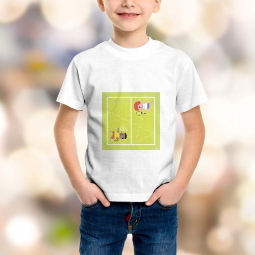 T-shirt enfant Tennis Grand Chelem Wimbledon girls