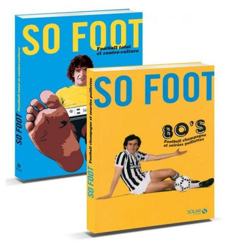 Livre So Foot Les années 80 + So Foot