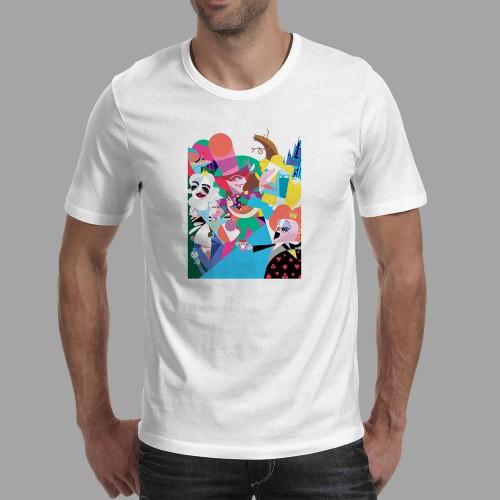 T-shirt homme Alice au Pays des Merveilles
