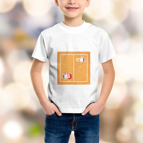 T-shirt enfant Tennis Grand Chelem France