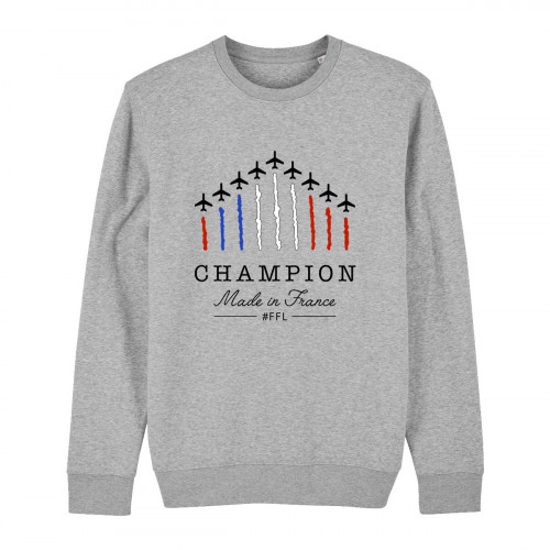 Crewneck Champion Made in France
