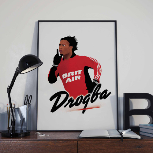 Affiche Drogba Guingamp