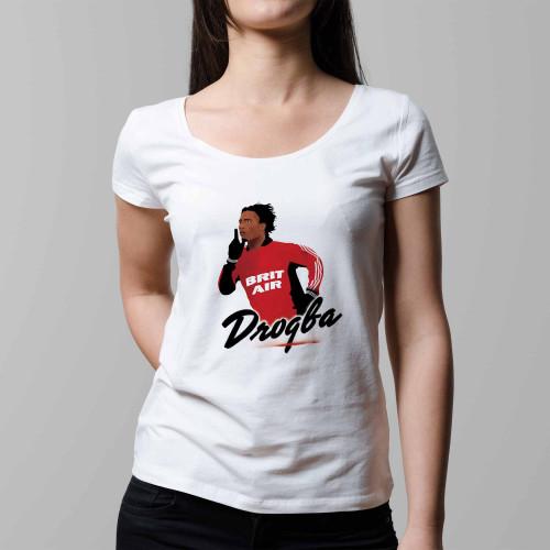 T-shirt femme Drogba Guingamp