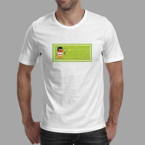 T-shirt homme Tennis gazon (hommes)