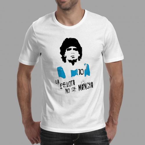 T-shirt homme Maradona La pelota no se mancha