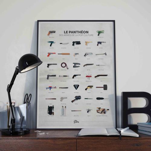 Affiche Panthéon des armes de la pop culture