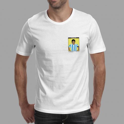 T-shirt homme Vignette Maradona