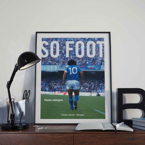 Affiche So Foot, Hasta siempre Maradona
