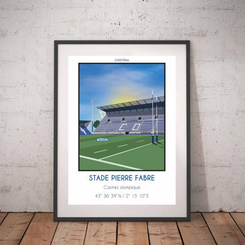 Affiche Stade Pierre Fabre Castres