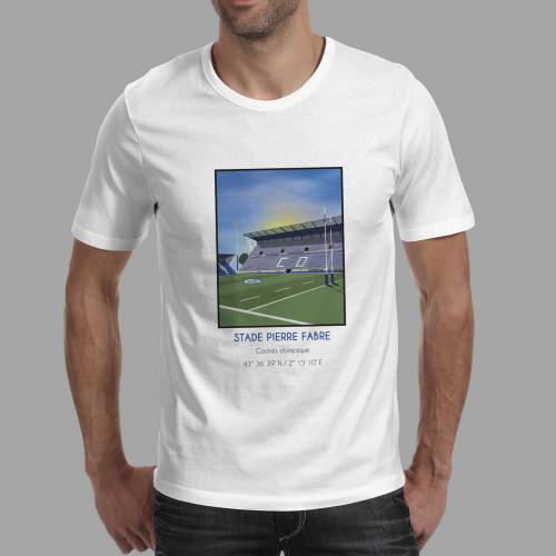 T-shirt Stade Pierre Fabre Castres