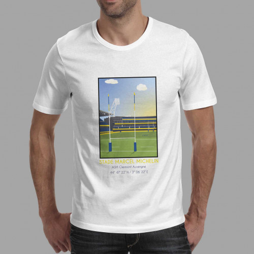 T-shirt Stade Marcel Michelin Clermont