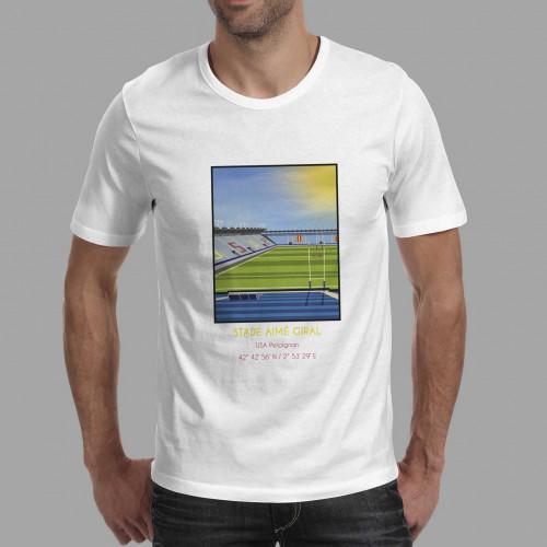 T-shirt Stade Aimé Giral Perpignan