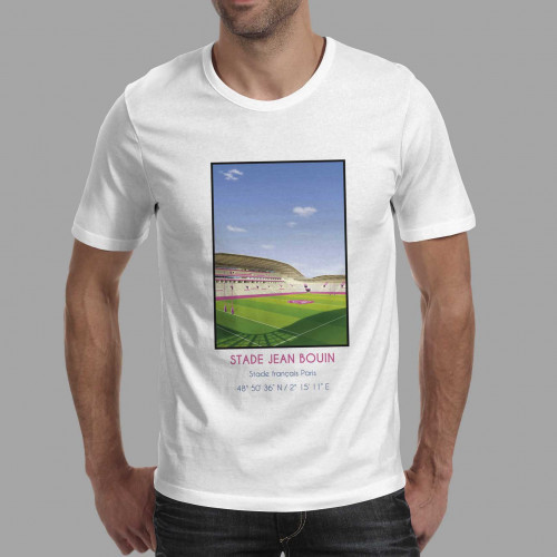 T-shirt Stade Jean Bouin Paris