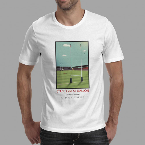 T-shirt Stade Ernest Wallon Toulouse