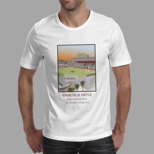 T-shirt Stade Felix Mayol Toulon