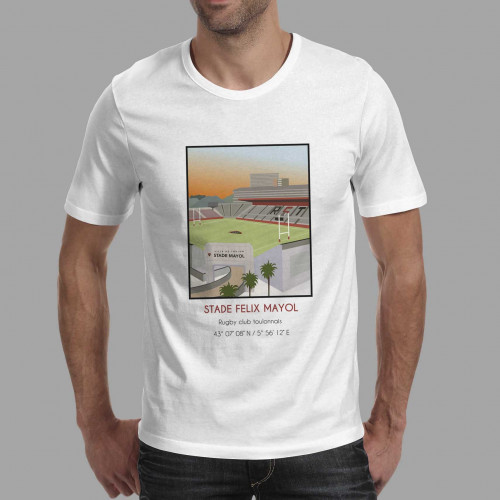 T-shirt Stade Felix Mayol Toulon