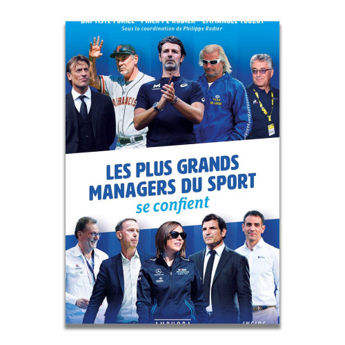 Livre Les plus grands managers du sport