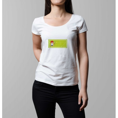 T-shirt femme Grand Chelem Wimbledon ladies