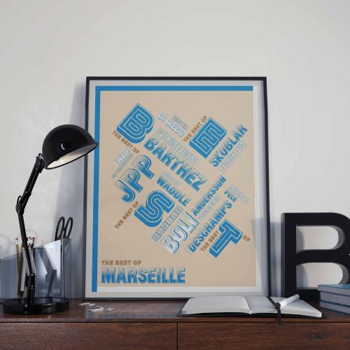 Affiche Best Of Marseille