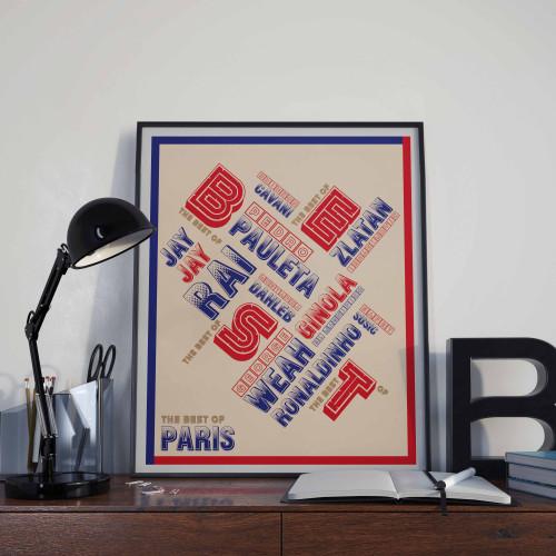 Affiche Best Of Paris
