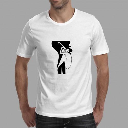 T-shirt homme John et Yoko