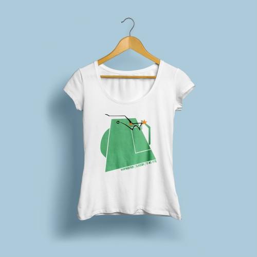 T-shirt femme Santini 76
