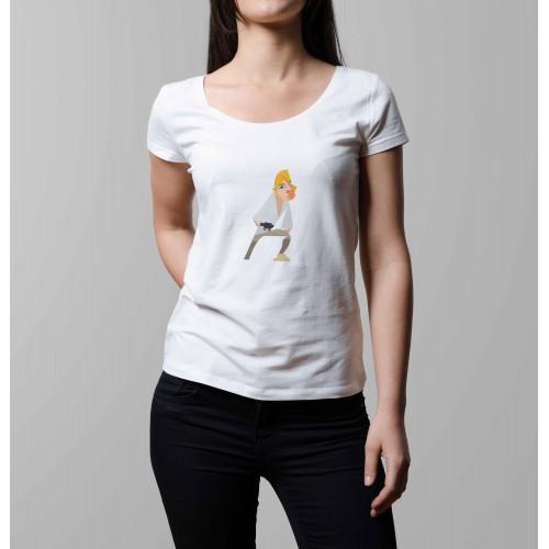 T-shirt femme Luke Skywalker