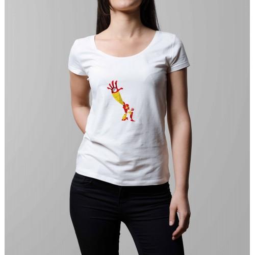 T-shirt femme Iron Man