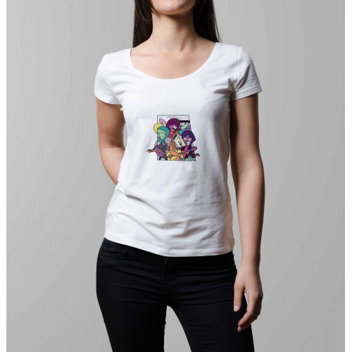 T-shirt femme Beatles Band
