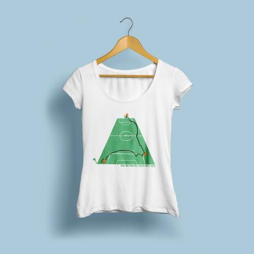 T-shirt femme Kostadinov 93