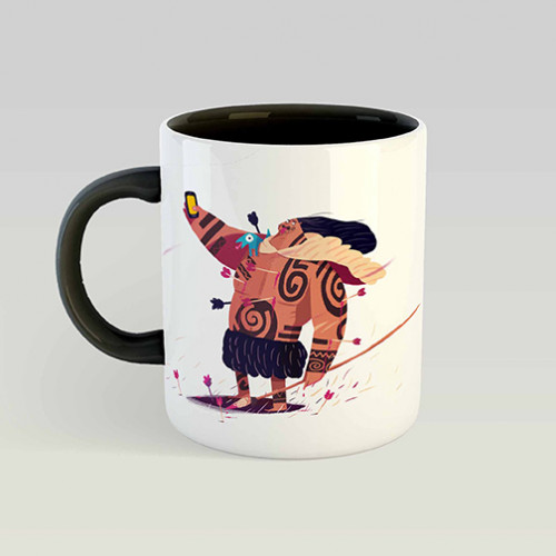 Mug Maori connected