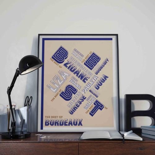 Affiche Best Of Bordeaux