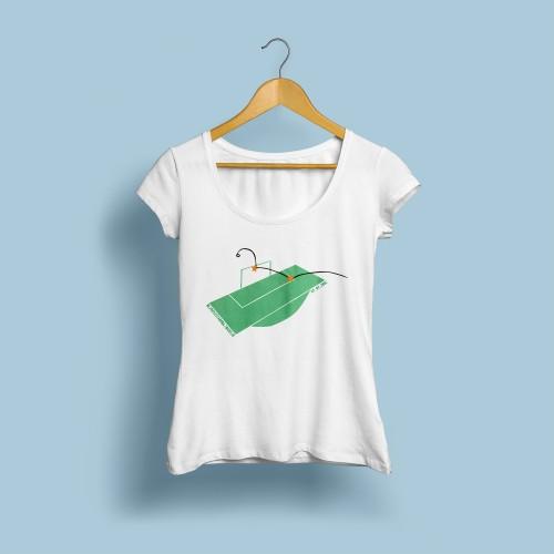 T-shirt femme Zidane 2006