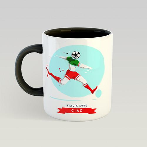 Mug Mascotte Mondial 1990