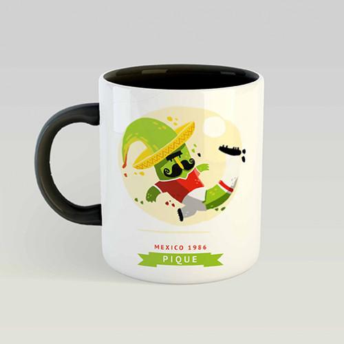 Mug Mascotte Mondial 1986